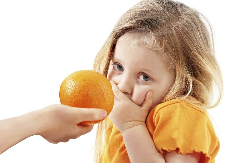 Аллергия на цитрусовые фрукты