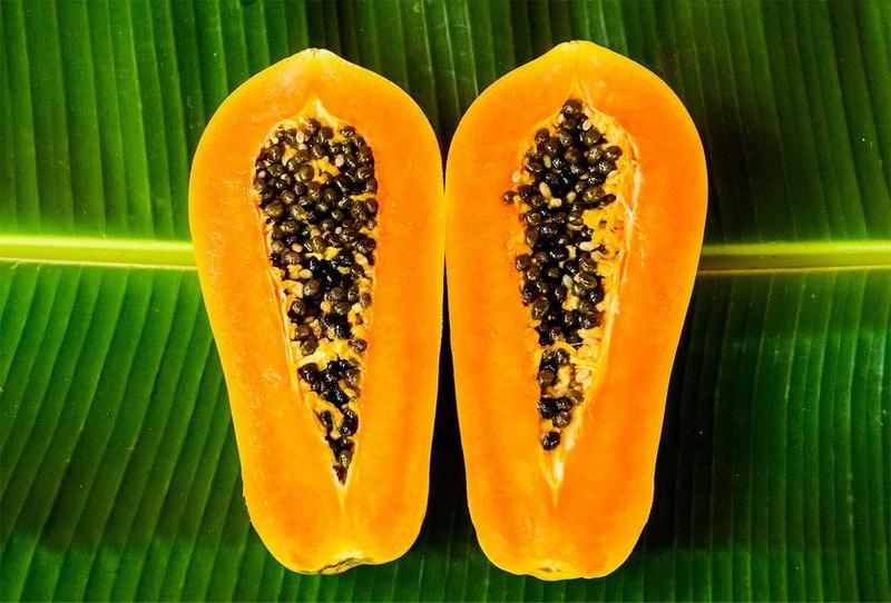 Экзотический фрукт Папайя