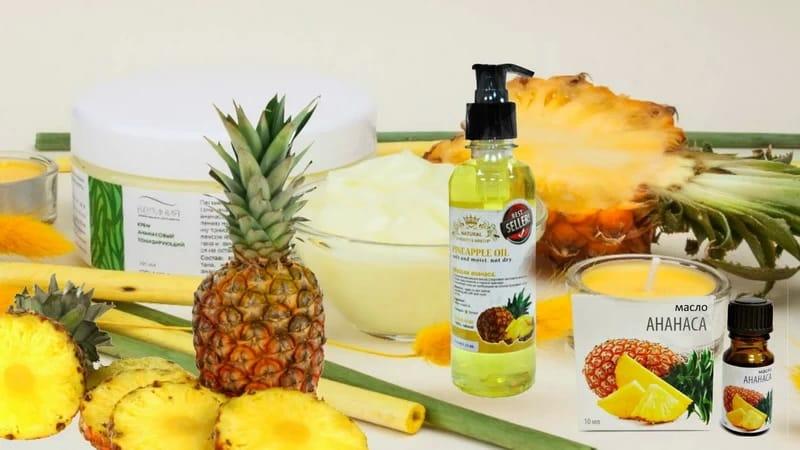 ананас в косметологии