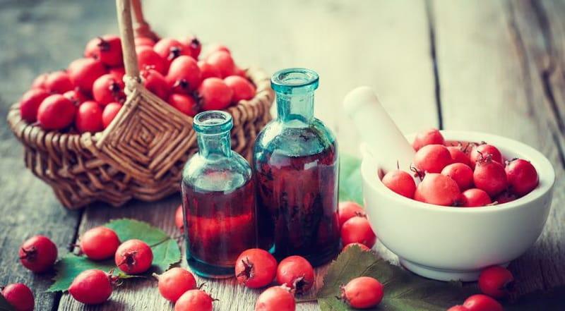 боярышник ягода