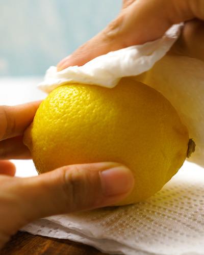 как заморозить лимон